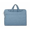 """Univerzális laptop táska, 15""""-os készülékhez, hosszú oldal zseb, vállpánttal, Iralan, kék"""