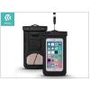 Univerzális vízálló védőtok max. 5,5\&quot, méretű készülékekhez - Devia Neon Waterproof Bag - black