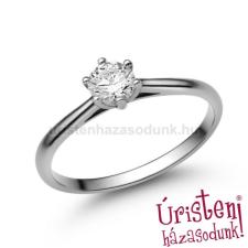 Úristen, házasodunk! E114FB35 - GYÉMÁNT:  0.35 CT (=4.5mm Ø) Eljegyzési Gyűrű gyűrű