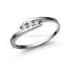 Úristen, házasodunk! E339FC - CIRKÓNIA köves fehér arany Eljegyzési Gyűrű