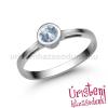 Úristen, házasodunk! E346FK - AKVAMARIN Eljegyzési gyűrű
