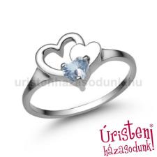 Úristen, házasodunk! E353FK - AKVAMARIN Eljegyzési gyűrű gyűrű