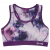USA Pro junior sportmelltartó - USA Pro Fitness Crop Top Junior Girls Purple Floral