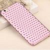 USAMS Apple iPhone 6, Műanyag hátlap védőtok, USAMS Starry Twinkle, csillagminta, rózsaszín