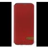 USAMS Duke Samsung G955 Galaxy S8+ oldalra nyíló hátlap tok, piros