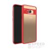 USAMS Mant Samsung G950 Galaxy S8 hátlap tok, piros