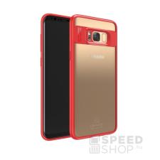 USAMS Mant Samsung G950 Galaxy S8 hátlap tok, piros tok és táska