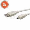 USB kábel 2.0 3m 20339