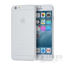 utángyártott Apple iPhone 6/6S ultravékony hátlap tok, átlátszó-matt tok és táska