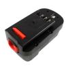 utángyártott Black & Decker Firestorm NST2018 akkumulátor - 2000mAh