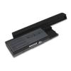 utángyártott Dell Latitude D631 Laptop akkumulátor - 6600mAh