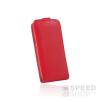 utángyártott Flip tok szilikon belsővel, Huawei P8 Lite, piros