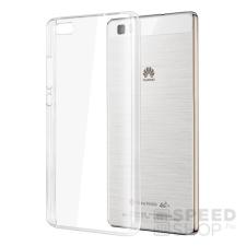 utángyártott Huawei P8 Lite Ultra Slim 0.3 mm szilikon hátlap tok, átlátszó tok és táska