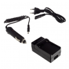 utángyártott Sony Alpha DSLR-A700, Alpha DSLR-A700K akkumulátor töltő szett