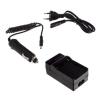utángyártott Sony DCR-DVD100E, DCR-DVD101, DCR-DVD101E akkumulátor töltő szett
