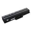 utángyártott Sony Vaio VGN-AW31XY/O, VGN-AW31XY/Q fekete Laptop akkumulátor - 4400mAh