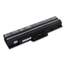 utángyártott Sony Vaio VGN-AW80S, VGN-AW80US fekete Laptop akkumulátor - 4400mAh egyéb notebook akkumulátor