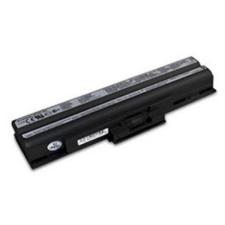 utángyártott Sony Vaio VGN-CS13H/W, VGN-CS16T/P fekete Laptop akkumulátor - 4400mAh egyéb notebook akkumulátor