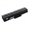 utángyártott Sony Vaio VGN-CS39, VGN-CS39/J fekete Laptop akkumulátor - 4400mAh