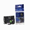 Utángyártott szalag Brother TZ-355 / TZe-355, 24mm x 8m, fehér nyomtatás / fekete alapon