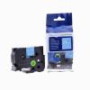 Utángyártott szalag Brother TZ-555 / TZe-555, 24mm x 8m, fehér nyomtatás / kék alapon