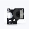 Utángyártott szalag Dymo 40920, 9mm x 7m fehér nyomtatás / átlátszó alapon