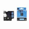 Utángyártott szalag Dymo 45806, S0720860, 19mm x 7m, fekete nyomtatás / kék alapon