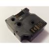 Utángyártott szalag Dymo 53724, 24mm x 7m arany nyomtatás / fekete alapon
