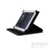 utángyártott Univerzális 10 colos forgatható tablet tok, fekete