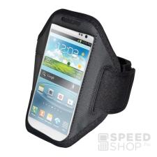 utángyártott Univerzális karpánt tok, Samsung Galaxy Note 3, fekete tok és táska