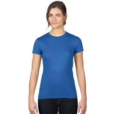 UTT AN379 WOMEN'S FASHION BASIC FITTED TEE, Royal Blue