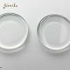 Üveg lencse kör 25X4,5 2db - ÉACK25