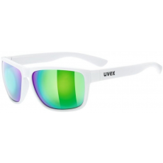 Uvex LGL 36 CV White Mat-Colorvision Mirror Green Daily S3
