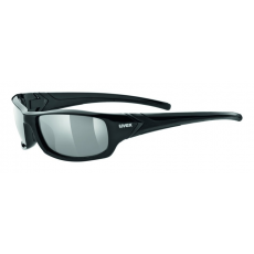 Uvex Sportstyle 211 Polarized Black -Polavision Smoke S3