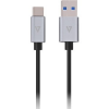 V7 USB3.1A TO USB-C CABLE 1M GREY