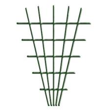 V-alakú rács, 145x5x75 cm, 4 / 4,7 mm, zöld, kertészkedés