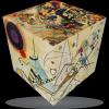 V-Cube V-CubeTM 3x3 versenykocka, Kandinsky