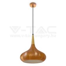 V-tac E27 fém függeszték ф360 - piros bronz - 3817 világítás