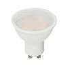 V-tac GU10 LED lámpa 5 Watt (110°) PRO - Opál meleg fehér