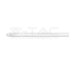 V-tac LED Fénycső T8 18W 120 cm Nano műanyag nem forgatható 3000K - 6263 világítás