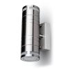 V-tac LED lámpatest , GU10-es foglalatú , oldalfali , 2 irányú , króm , üveg dizájn csíkkal ,...
