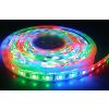 V-tac LED szalag , kültéri , 5 méteres tekercs, 5050 , 300 LED , 60 Watt (12 W/m) , RGB
