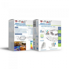 V-tac LED SZALAG SZETT RGB 5050 60LED/m 12V IP20 - 5m - 2558 kültéri világítás