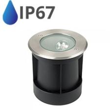 V-tac LED talajlámpa (8W/350lm) természetes fehér IP67 kültéri világítás