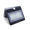 V-tac Napelemes oldalfali lámpa (fekete) 3W 3000+4000K