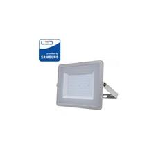 V-tac PRO LED reflektor (100 Watt/100°) Meleg fehér - szürke kültéri világítás