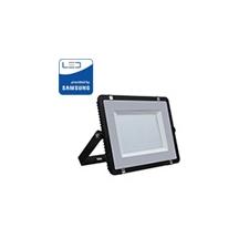 V-tac PRO LED reflektor fekete (200W/100°) Természetes fehér kültéri világítás