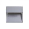V-tac StepLight-L LED lépcsővilágító - négyzet, szürke (3W) term. f.