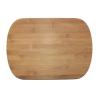 . Vágódeszka,  bambusz, 34x24 cm
