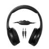 Vakoss MSONIC sztereó fejhallgató; hangerőszabályzóval MH531K fekete